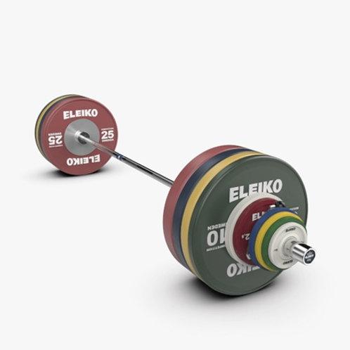 Set de Competencia para Levantamiento de Pesas IWF - NxG 190 kg, varonil, FG