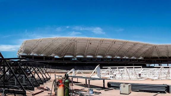 El Estadio Tomateros Culiacán, Sinaloa.
