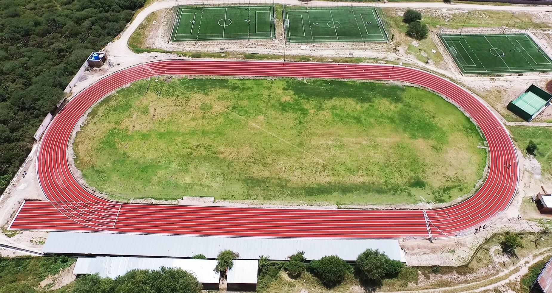 Pista Unidad Deportiva Luis H. Ducoing. San Miguel de Ayende