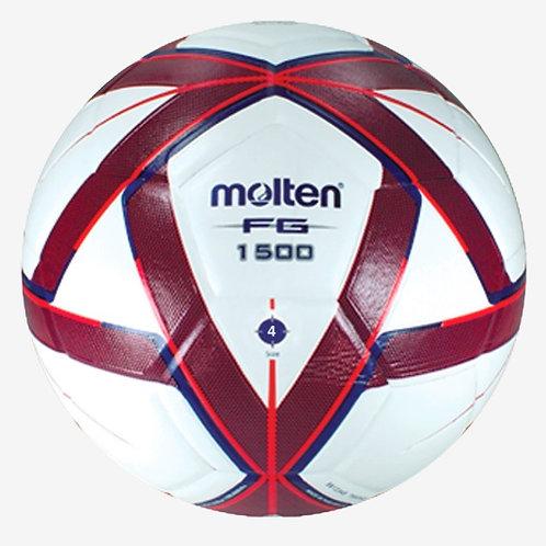 Balón para Futbol - N° 5 - Azul/Rojo