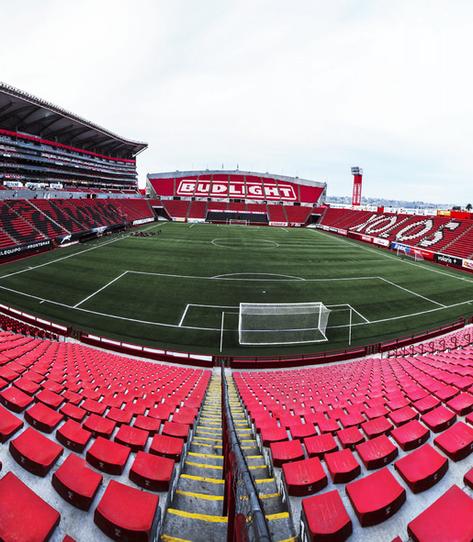 Butacas Estadio Caliente Xolos