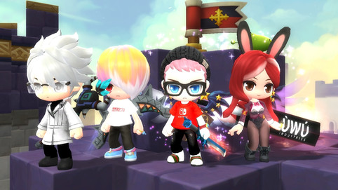 AvalonWG is in MapleStory 2 [NA WEST] !!!