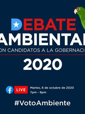 Comunicado de Prensa: Debate Ambiental