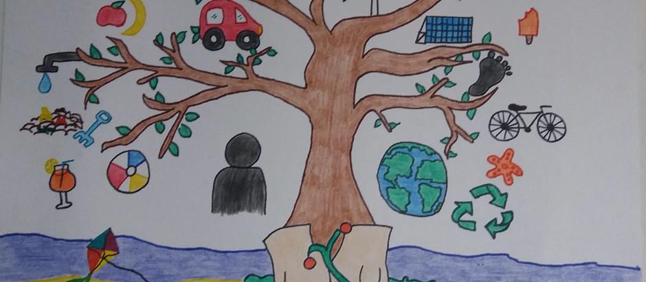 Ganadores del concurso Crea tu Arte para un Verano Eco Amigable