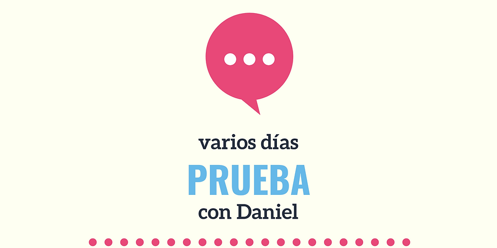 Prueba con Daniel