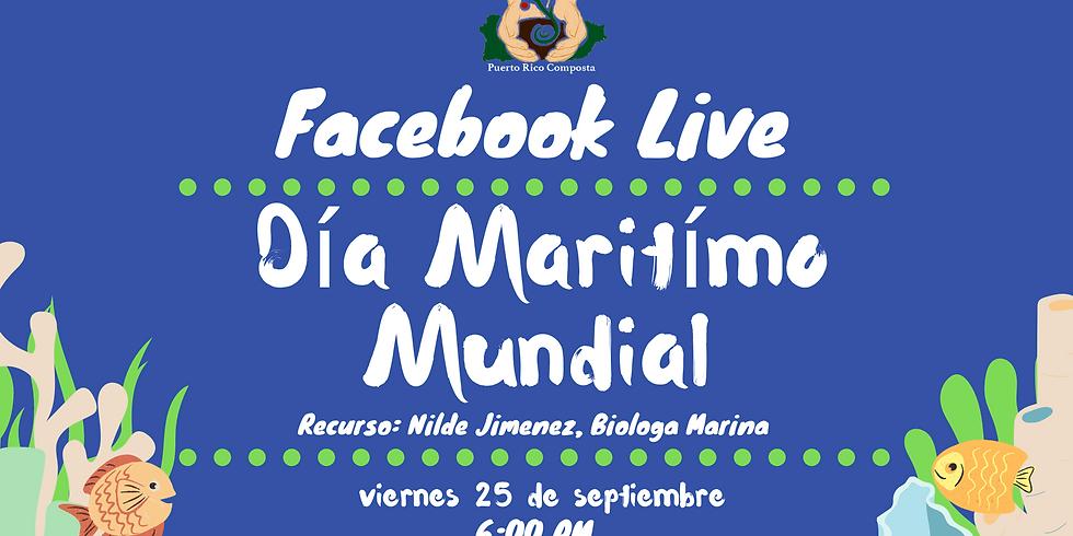 Facebook Live - Día Marítimo Mundial