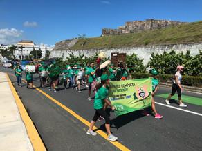 ¡Exitosa la Caminata por el CambioClimático!
