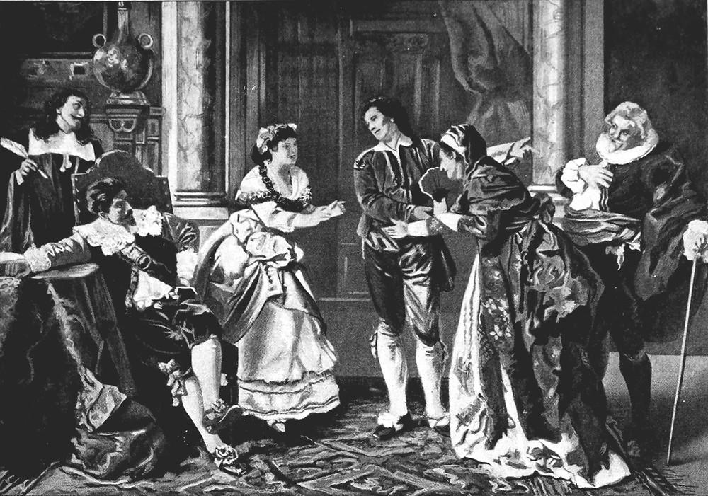 Illustration of Motzart's Marriage of Figaro Opera