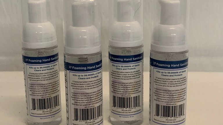 Foaming Hand Sanitizer 50mL (Pack of 4)