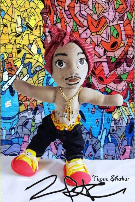 tupac- Muñecos personalizados - SElfiedoll- Epiphany Minime