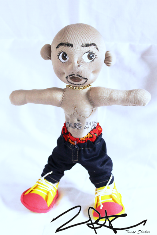 tupac2- Muñecos personalizados - SElfiedoll- Epiphany Minime