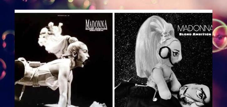 MADONNA- Blond Ambition- Muñecos personalizados - SElfiedoll- Epiphany Minime