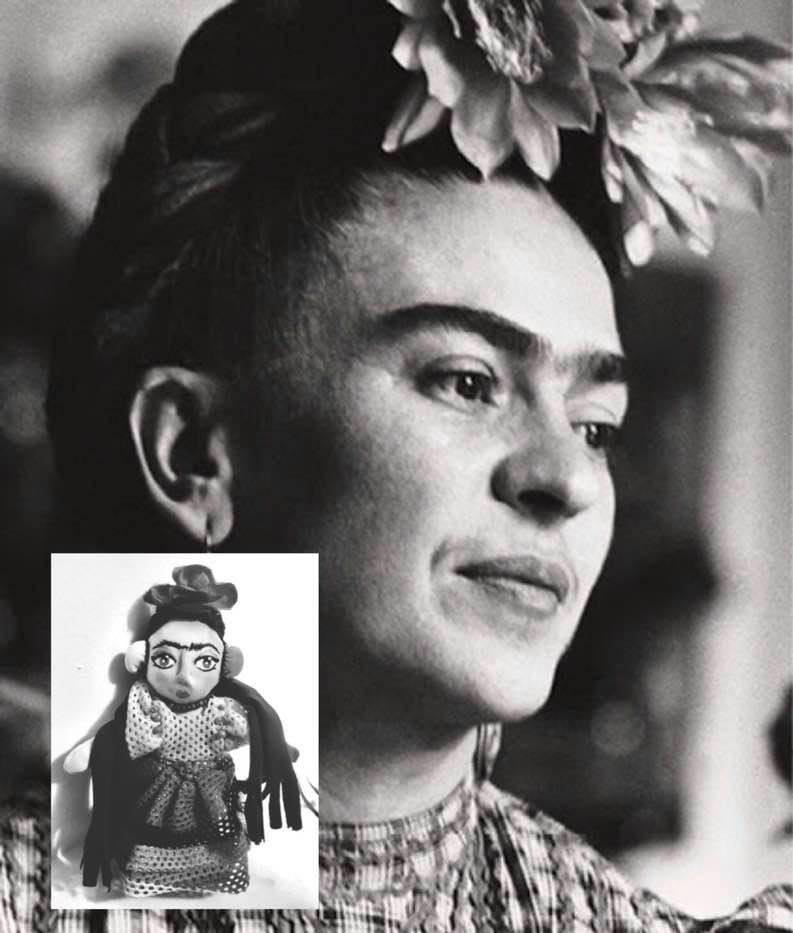 Frida Kahlo  17 cmts - Muñecos personalizados - SElfiedoll- Epiphany Minime