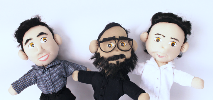 freinds sellfiedoll puppets personalize