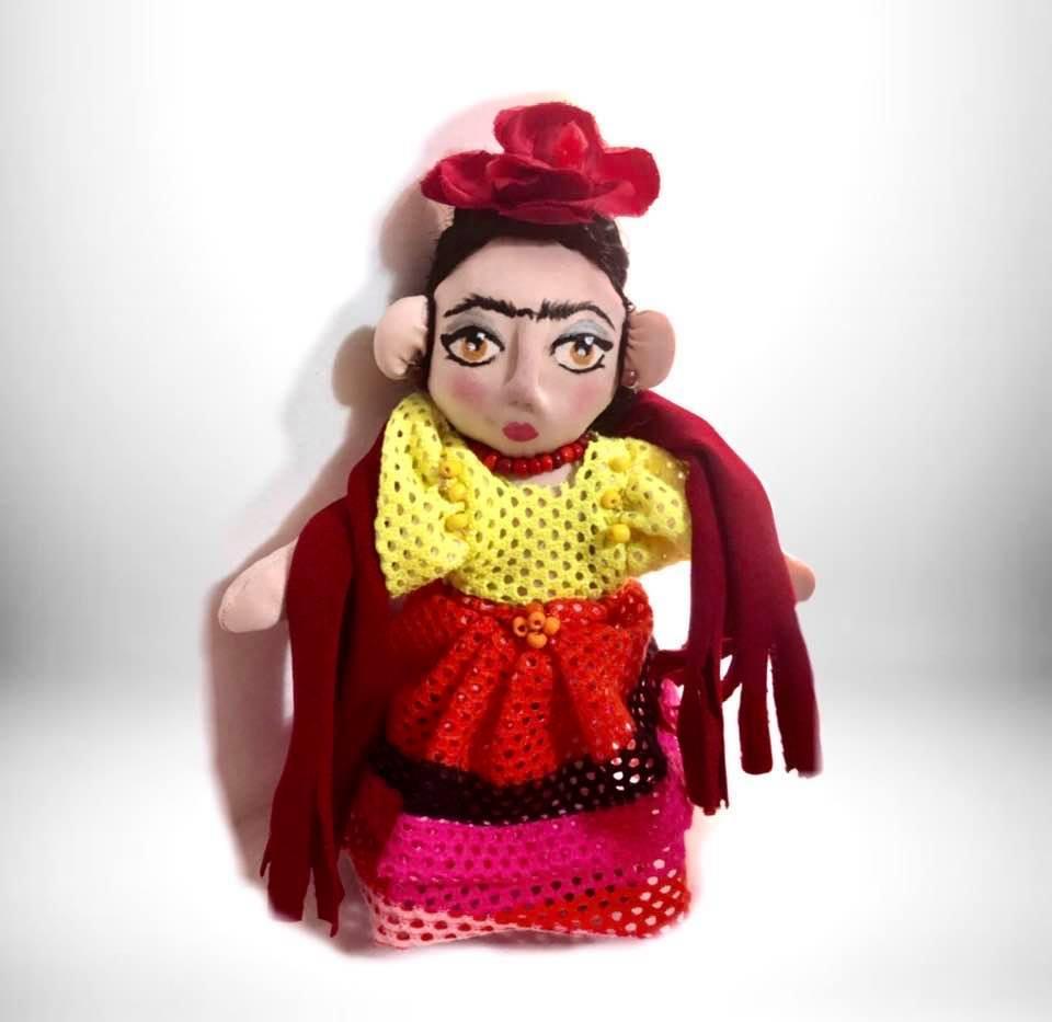Frida Kahlo 17 cmts -Muñecos personalizados - SElfiedoll- Epiphany Minime