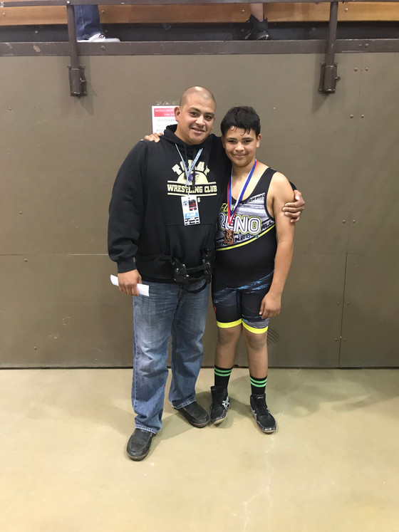 Anthony Ortega and Kaleo Garcia All-American@Reno Worlds