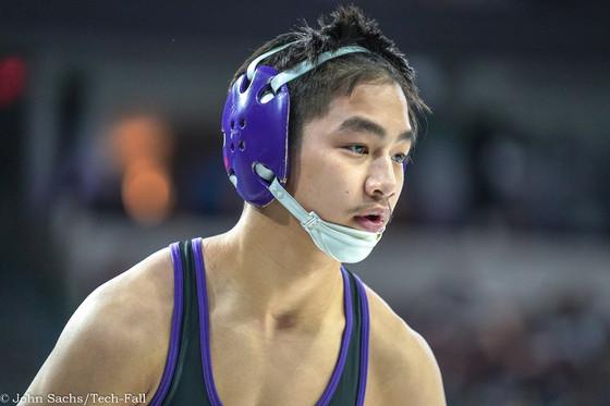 Jonathan Nguyen ends season on Day 2 of CIF State tournament