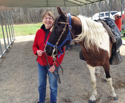 Trish & horse