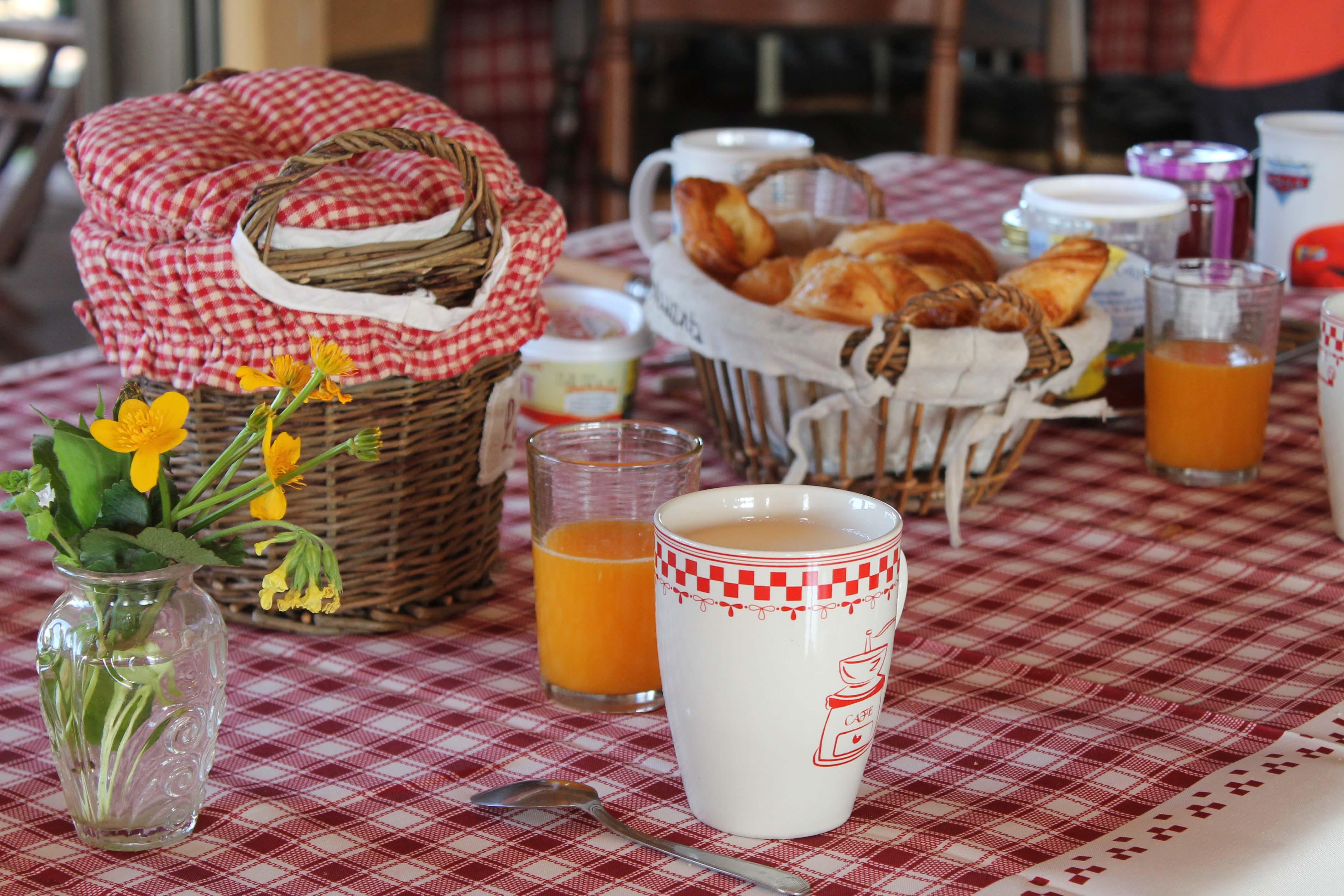 petit-déjeuner-gîte