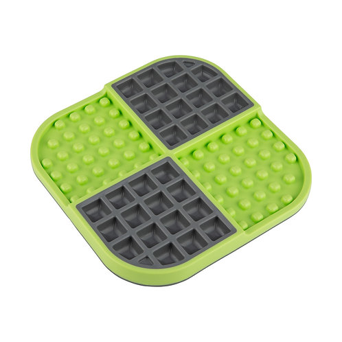 LickiMat Slomo Double Slow Feeder - Green