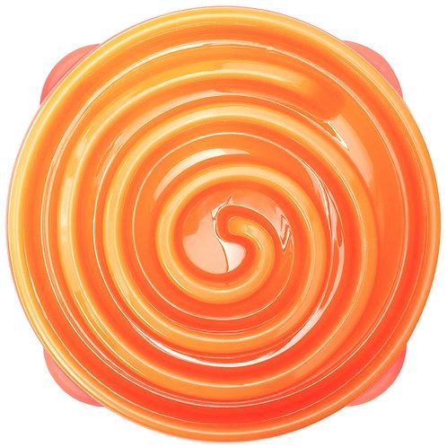 Outward Hound Fun Feeder Orange