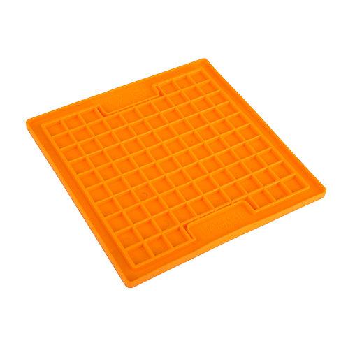 LickiMat Playdate Slow Feeder Mat - Orange