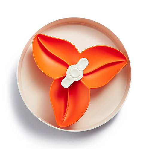 SPIN Interactive Adjustable Slow Feeder Bowl - Flower
