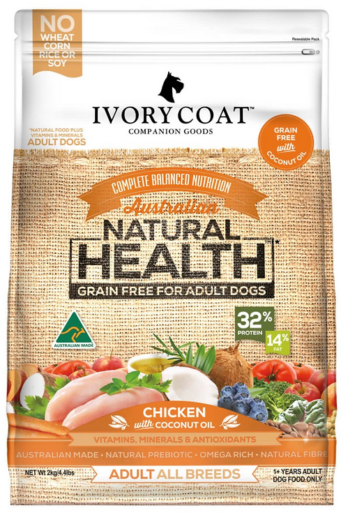 Ivory Coat Grain Free Chicken & Coconut Oil Adult Dog Food