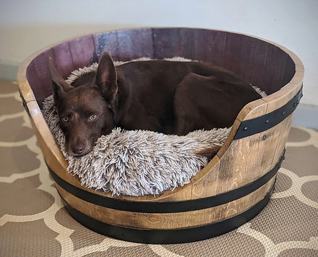 Wine Barrel Bed