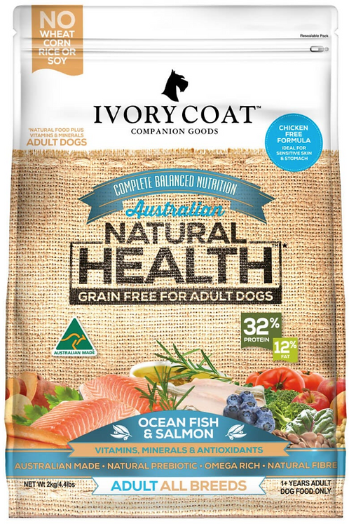 Ivory Coat Grain Free Ocean Fish & Salmon Adult Dog Food
