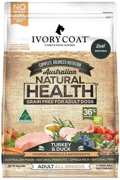 Ivory Coat Grain Free Turkey & Duck Adult Dog Food