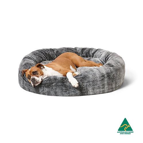 Snooza Cuddler Chinchilla Dog Bed