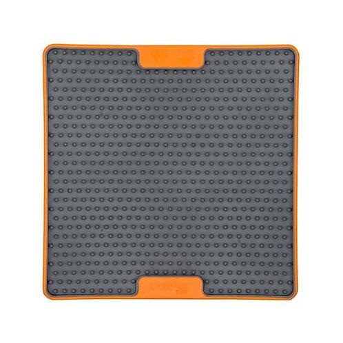 LickiMat Soother Tuff Slow Bowl - Orange
