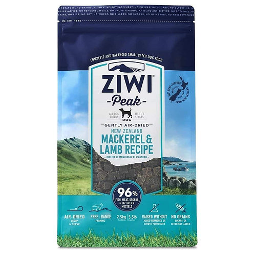 Ziwi® Peak Air-Dried Dog Food Mackerel & Lamb