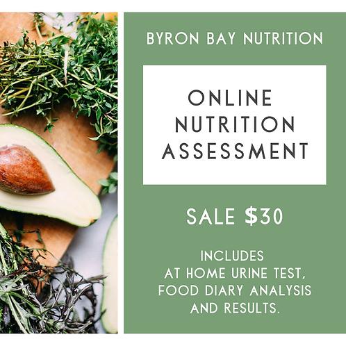 Online Nutrition Report