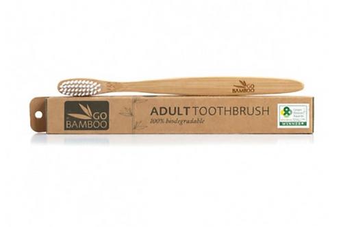 Go Bamboo Biodegradable Toothbrush
