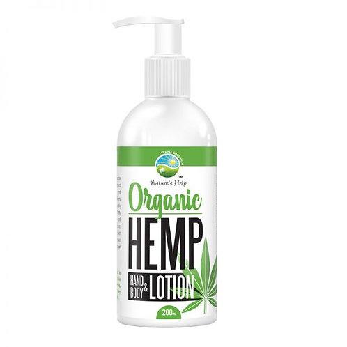 Organic Hemp Hand & Body Lotion 200mL