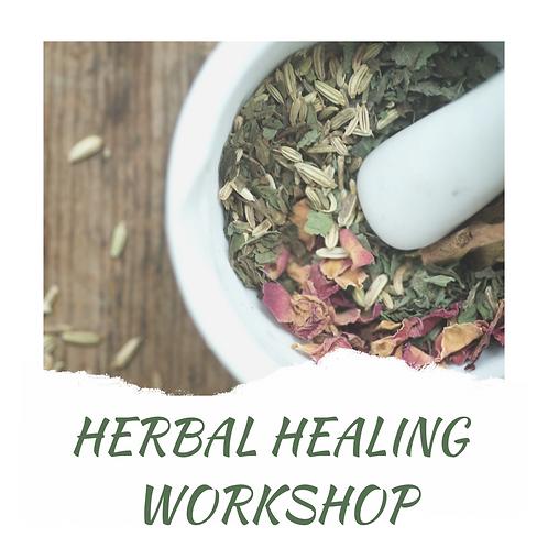 Herbal Healing Workshop 2nd April 2019