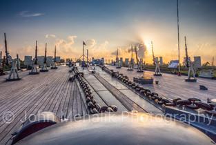 sunset On The Battleship