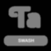 Opentype swash