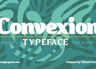 New font release: Convexion