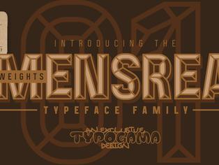 New font release: Mensrea