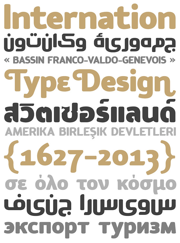 Tcho typeface - Designed by Michael Parson - Typogama type foundry