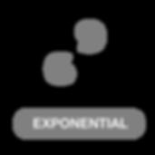 Opentype exponential numbers