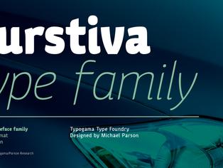 New font release: Kurstiva