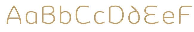 Vulgat typeface - Designed by Michael Parson - Typogama type foundry