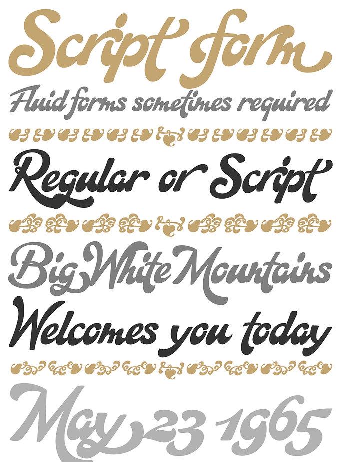 Ignorance typeface - Designed by Michael Parson - Typogama type foundry