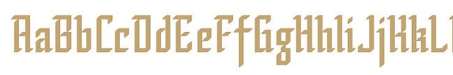 Psalta typeface - Designed by Michael Parson - Typogama type foundry