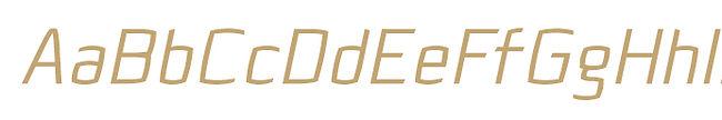 Quam typeface - Designed by Michael Parson - Typogama type foundry