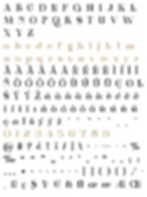 Zoltana character set